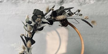 Farmyard Floristry - Dried Flower Hoop Workshop tickets