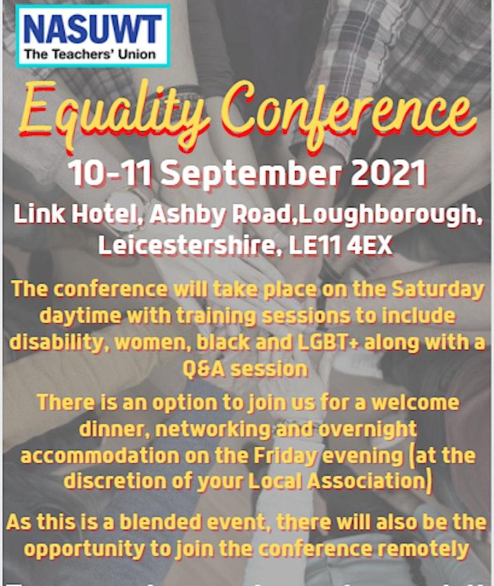 NASUWT East Midlands Equality Conference image