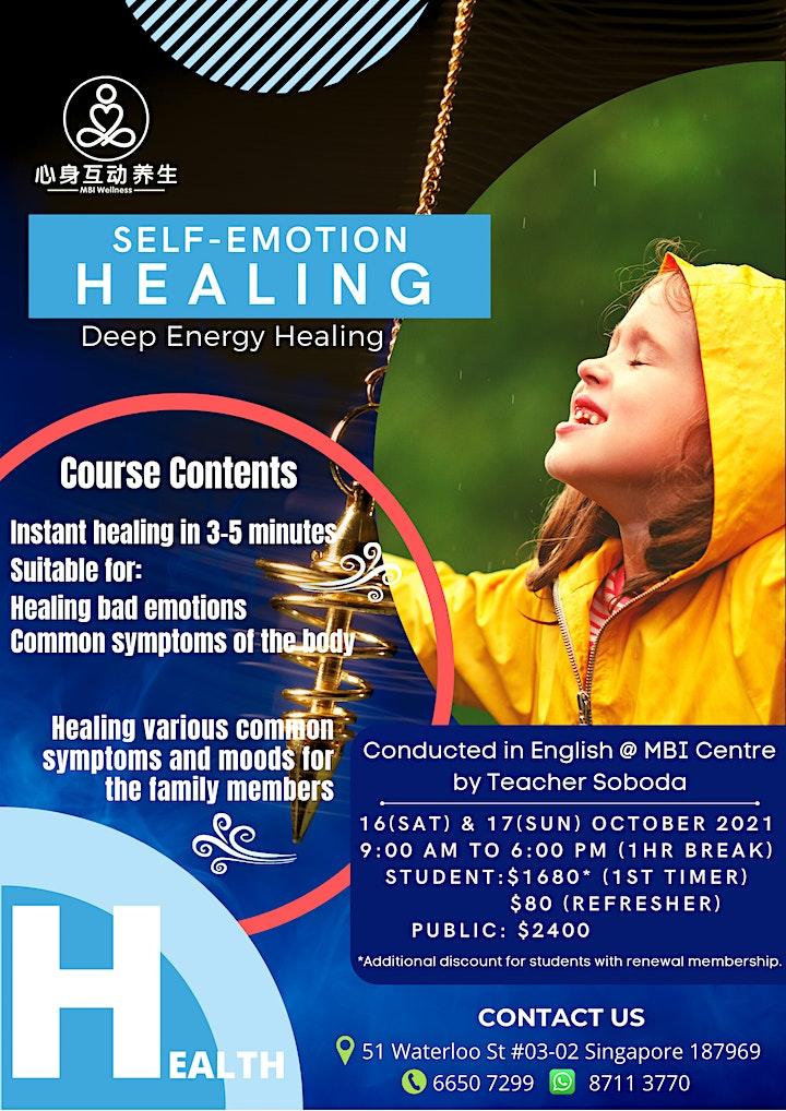 Self-Emotion Healing - 2 Full Days Course image