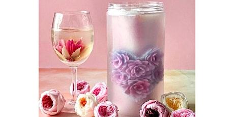 Special Edition: 3D Jelly Art Pillar/Roll & Champagne Glass (Intermediate) tickets