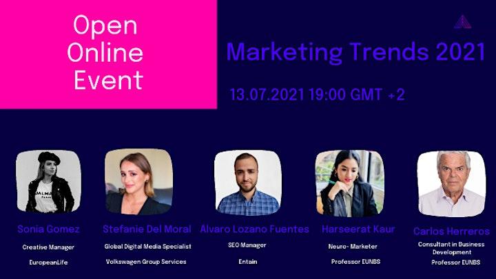 Marketing Trends 2021 image