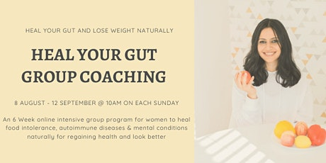 Heal Your Gut Group Coaching tickets