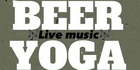 Yoga+Beer+Live Music @Blackhog Brewery tickets