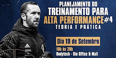 Planejamento do Treinamento para Alta Performance ingressos