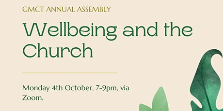 Wellbeing and the Church tickets