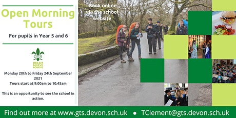 GTS Open Morning Tours (Year 5 & 6) tickets