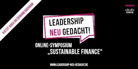 Sustainable Finance-Symposium vom 15.6.2021 (ON DEMAND) Tickets