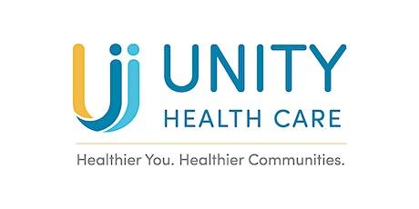 Unity Health Care's Donor Appreciation Event  2021 tickets