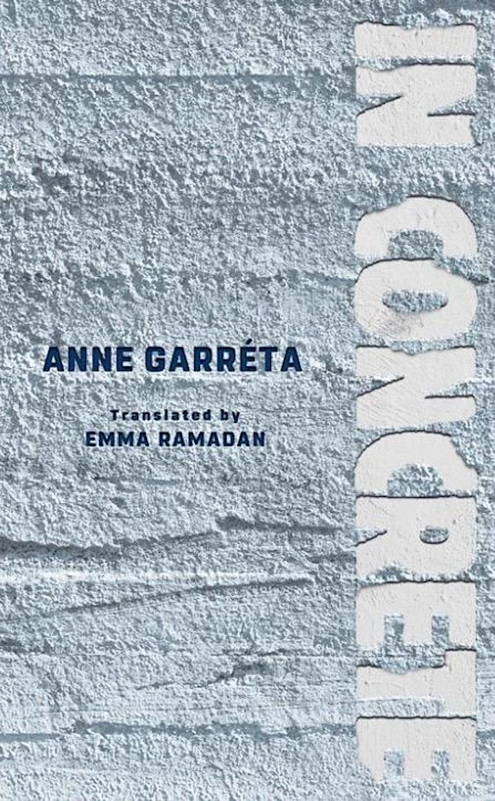 Virtual Book Launch for IN CONCRETE: Emma Ramadan and Lauren Elkin image