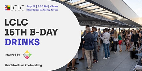 LCLC 15th B-Day Drinks | GLL  #BackToVilnius Networking tickets