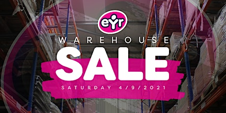 Early Years Resources WH Sale SESSION 1 8:30-9:30am tickets
