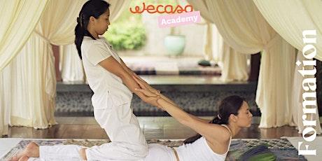 Formation : Massage Thaï - du 18 au 21/10/2021 (Paris) tickets