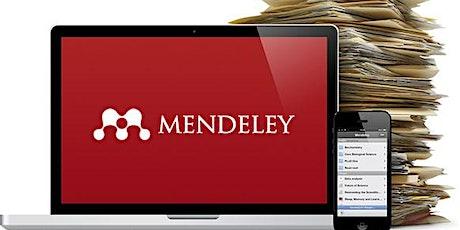 עושים סדר בבלאגן, תוכנת Mendeley  לניהול וציטוט ביבליוגרפיה tickets