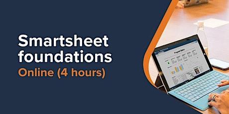 Smartsheet foundations online training tickets