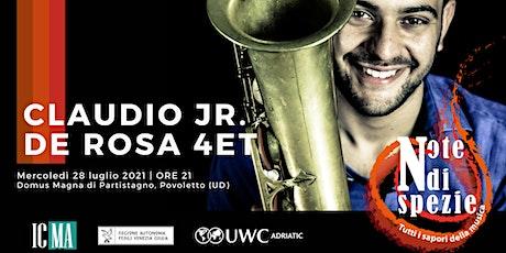 Stagione Note di Spezie 2021- Claudio Jr. De Rosa 4et biglietti