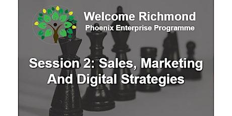 Sales, Marketing & Digital Development  Strategies for Hospitality tickets