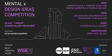 MENTAL Design Ideas Competition tickets