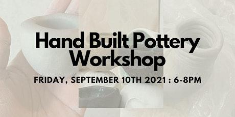 Hand-Build Ceramics with Encantaro! tickets