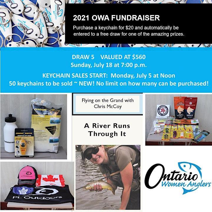 DRAW 5 - Ontario Women Anglers - 2021 Fundraiser image
