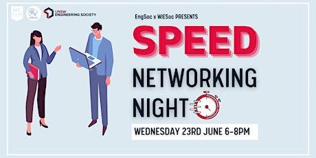 EngSoc x WIESoc Presents: Speed Networking Night tickets