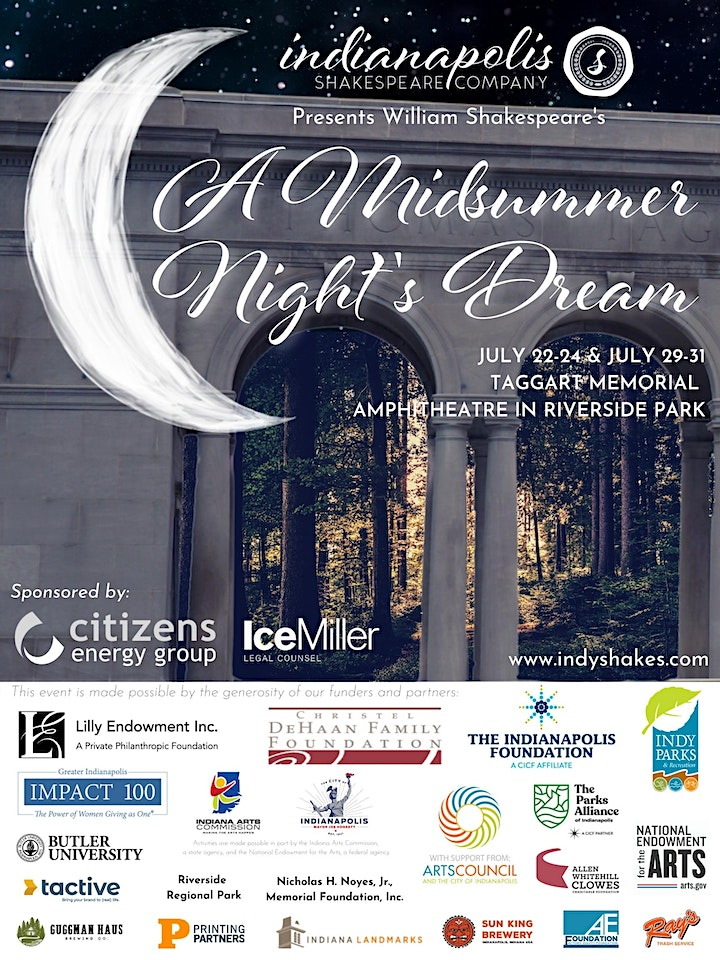 Indy Shakes Presents: A Midsummer Night's Dream image