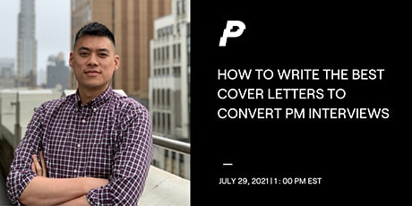 How to Write the Best Cover Letters to Convert Product Manager Interviews tickets