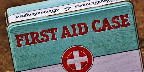 Emergency First Aid at Work (EFAW) Training tickets