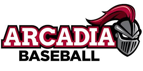 Arcadia University Baseball Prospect Camp tickets