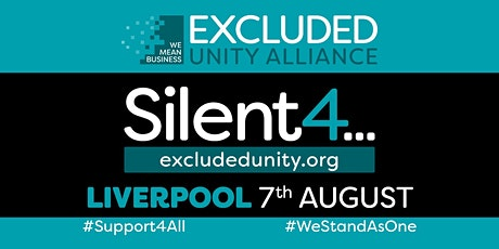 EXCLUDED UNITY ALLIANCE  #WeStandAsOne - LIVERPOOL Event tickets