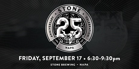 Stone 25th Anniversary  Celebration - Napa tickets