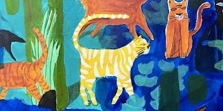 PAINTING FOR KIDS: Cats and Jungle ingressos