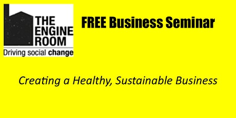 Growing a Healthy Sustainable Business tickets