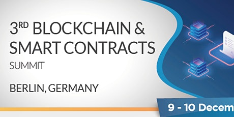 3rd Blockchain & Smart Contracts Summit tickets