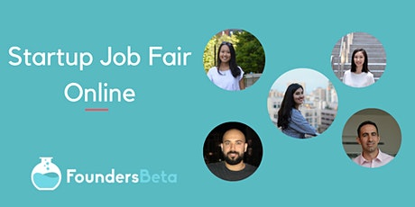 Startup Job Fair Online: Connect with the Fastest Growing Companies tickets