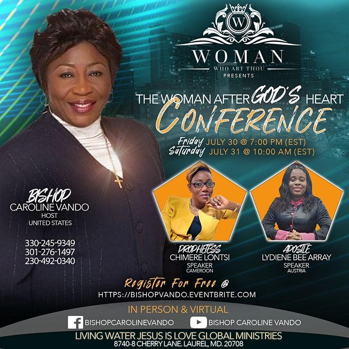 The Woman After God's Heart Conference image