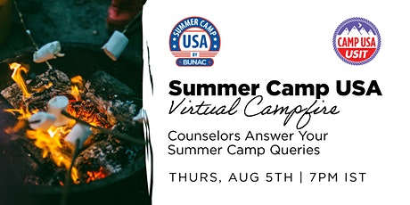 Summer Camp USA Virtual Campfire - Counselors Answer Your Camp Queries billets