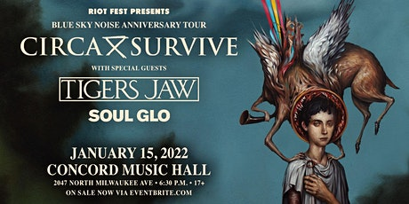 RESCHEDULED - Circa Survive: Blue Sky Noise 10 Year Anniversary Tour. tickets