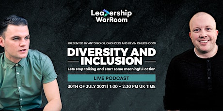 Leadership War Room: Diversity and Inclusion tickets