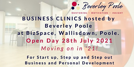 Business Clinics - open day in Poole tickets