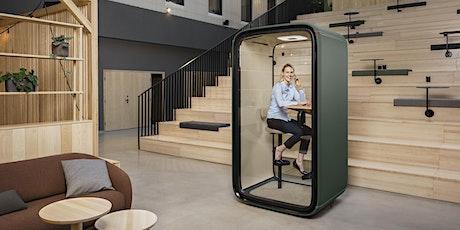 Framery's Virtual CEU on Acoustics of Office Pods Tickets