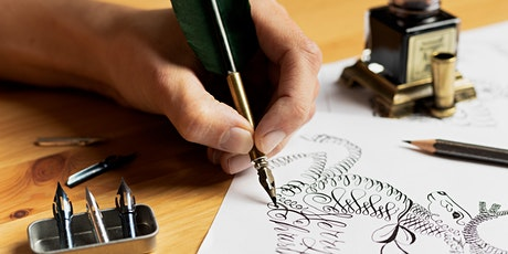 Beginners Pointed Pen Calligraphy Workshop tickets