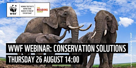 Conservation Solutions - Webinar with the World Wildlife Fund tickets