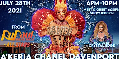"""PRIDE IN THE SKY: """"RuPaul's Drag Race"""" A'Keria Chanel Davenport! tickets"""