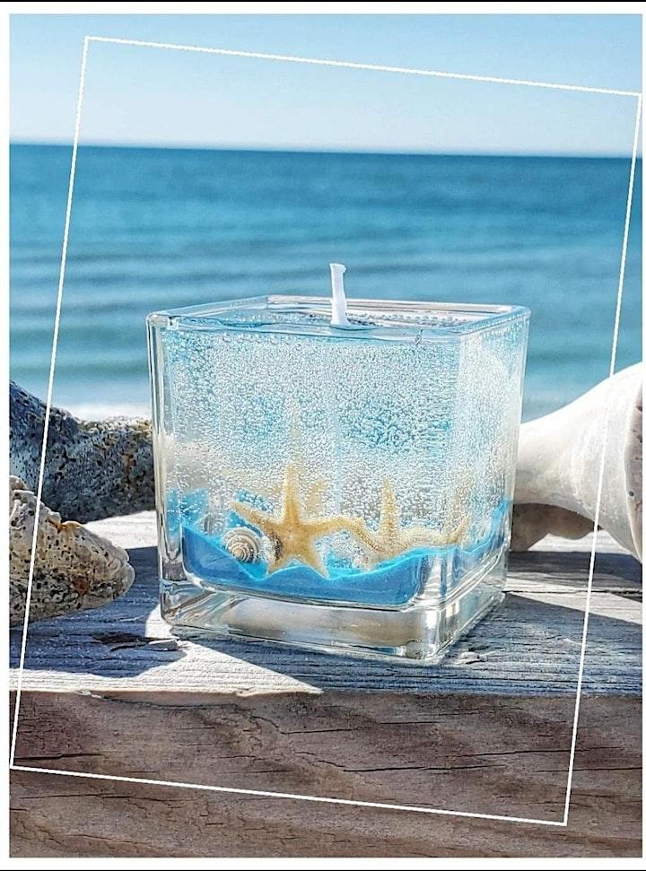 Scented Gel candle making Workshop image