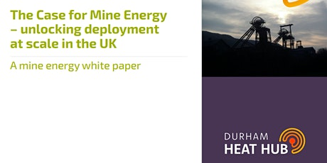 Minewater Energy  - Unlocking Opportunities tickets