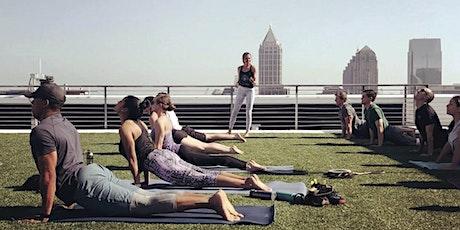 Yoga on the Coda Rooftop tickets