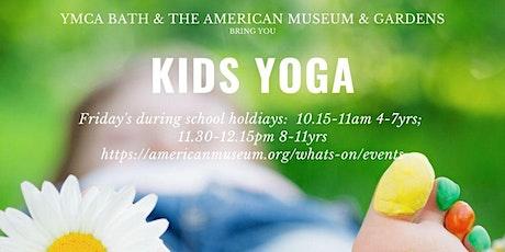 Children's Yoga - ages 4-7 tickets