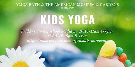 Children's Yoga - ages 8-11 tickets
