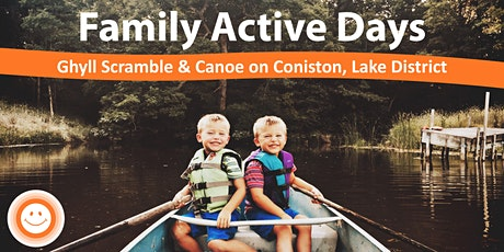 Family Active Day - Ghyll Scrambling & Mindful Canoe tickets