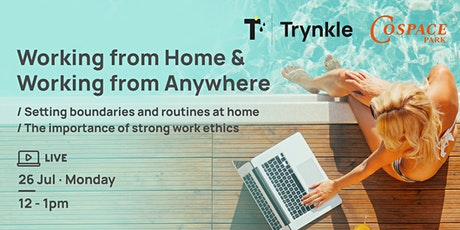 Working From Home & Working From Anywhere ingressos